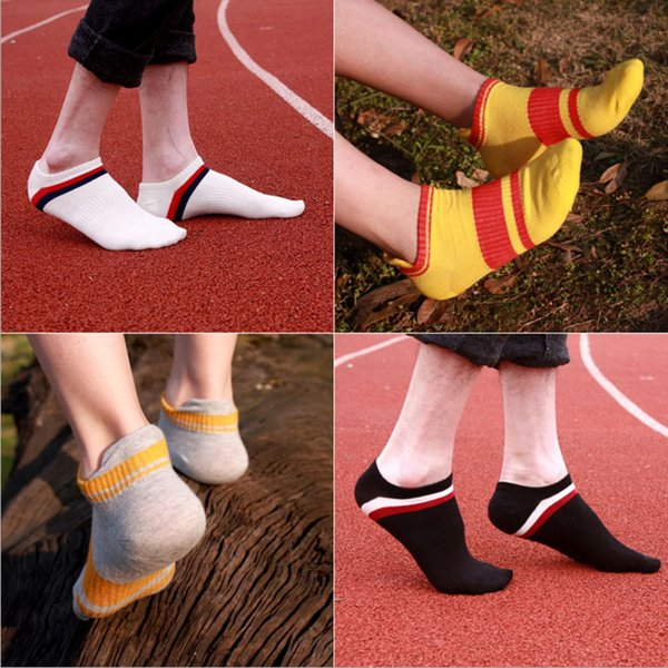 Fashion New Arrival Men/Ms Summer Light Socks Classical Quality Casual Stripe Cotton Short Sock Wholesale Multicolor Couples Socks Sale