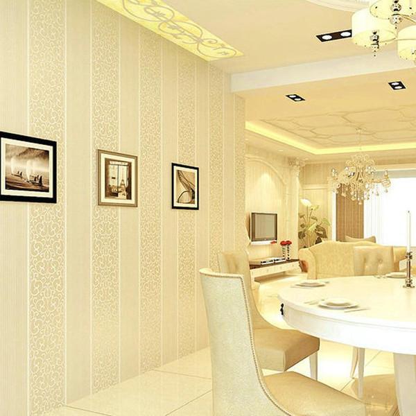 Großhandel Hot Fashion 3D Europa Streifen Schlafzimmer Tapete Für Wände  Wohnzimmer Hotels Tapete Weiß Beige Grau Kostenloser Versand Von  Gobuyvogue, ...