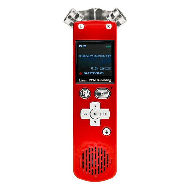 Wholesale-JD-M5 digital recording 8GB Digital Voice Recorder,2.4GHz Wireless USB PPT Presentation Presenter Mouse read remote control Red
