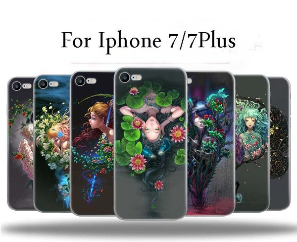 Per Iphone 7 7plus Constellation custodia morbida telefono cellulare caso di alta qualità TPU Creative Arts Casi tutto compreso per Iphone 7 7plus