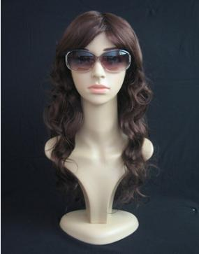 New arrival a hairstyle doll glasses-display-stands hairdressing mannequins 360° rotatable head YZX 016