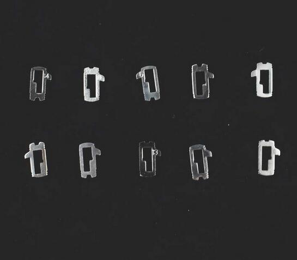 (20pcs) For Ford Focus Lock Reed Repair Accessories 200PCS Car Lock Reed Lock Plate For Ford Focus FIESTA ECOSPORT