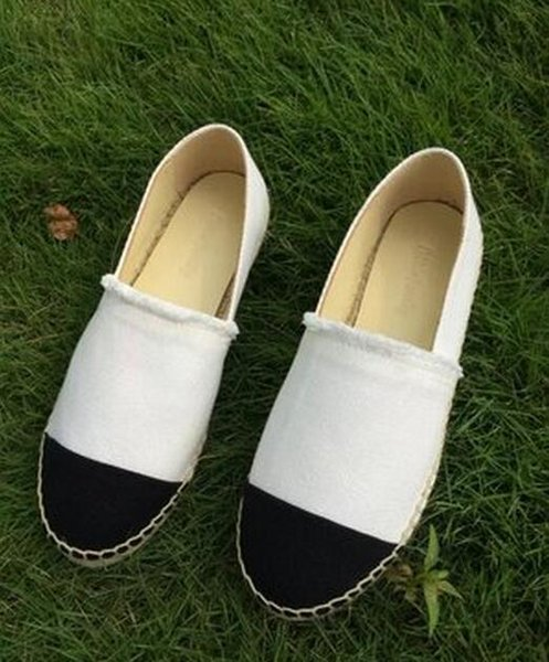 Famous Brand Women Espadrilles Top Quality Brand 2017 Real Lambskin Women canvas Flat Shoes Comfortable casual loafers