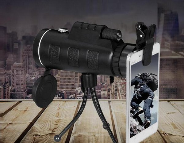 Telescope Lens Zoom unniversal Optical Camera Telephoto len with clip for Iphone Samsung HTC Sony LG mobile smart cell phone