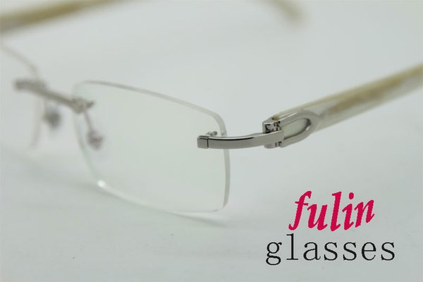 super quality reading glasses for men women wear read computer eye glasses white temple t8100907 size