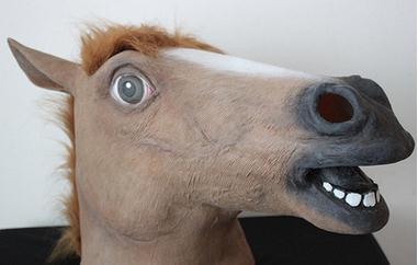 Cavalo castanho claro