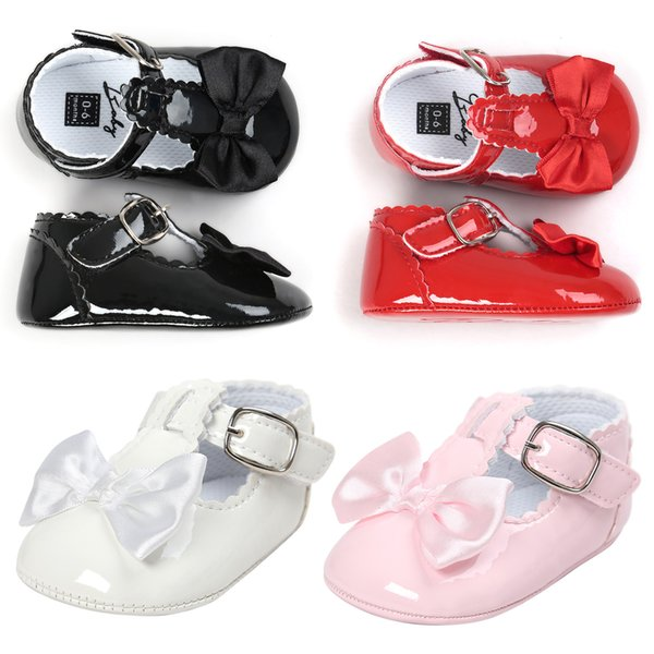Fairy Newborn Non-slip Baby Leather Moccasins Supersoft Sole Toddlers Infant Running Sports Shoes Girls Boys First Walkers Baby Kids Booties
