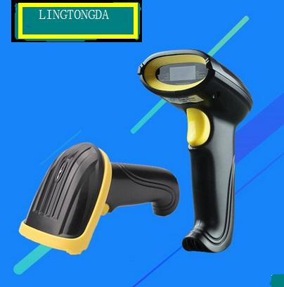 top popular Manufacturers selling !!!scanning gun usb cable for supermarket express single and scanning barcode scan code scanning gun from LINGTONGDA 2019