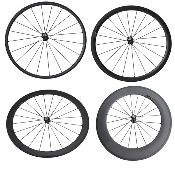 Only Front Wheel Novatec 271 700C 24mm 38mm 50mm 60mm 88mm Clincher Tubular Road Bike Bicycle Light Carbon Wheels Racing Carbon Wheel