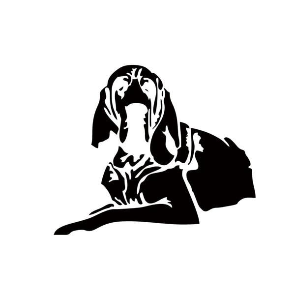 2017 Hot Sale Car Stying Vinyl Sticker Personality Pet Dog Decal For Car Bumper Decorative Art Sticker