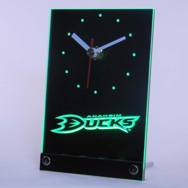 Al por mayor-tnc0530 Anaheim poderosos mesa de patos escritorio 3D LED reloj