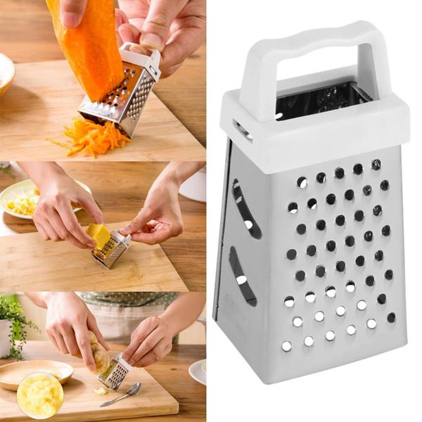 best selling Useful Mini 4 Sides Design Stainless Handheld Grater Slicer Kitchen Tool Stock Offer