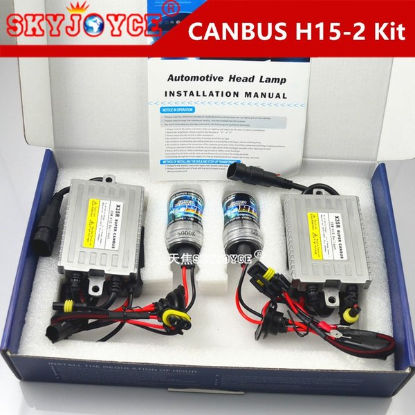 Error Free Hid Kit Canbus H15 5000K Xenon HID Canbus Kit H15L 4300K on