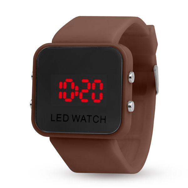 Toptan LED ekran ayna eğlence sporları, ikinci nesil çok fonksiyonlu saatler, plastik ayna saatler, elektronik saatler