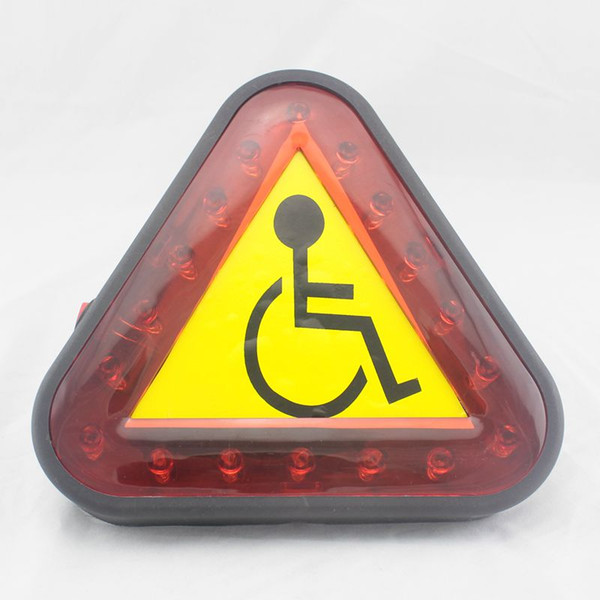 Power wheelchair caution light mobility scooter warning light caution light for mobility scooters