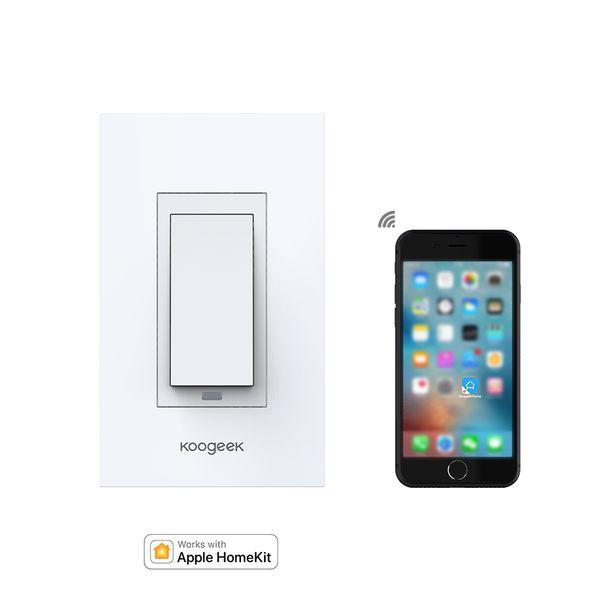 Koogeek Wi Fi Enabled Smart Light Wall Switch Works With Apple ...