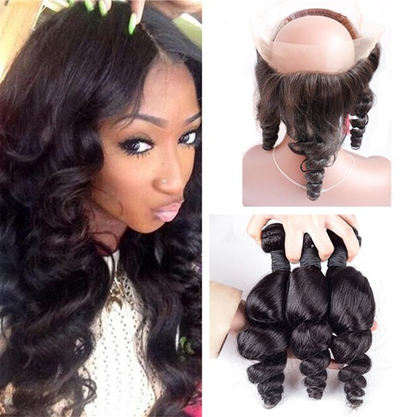 Open Cap 360 Full Lace Frontal Closure With