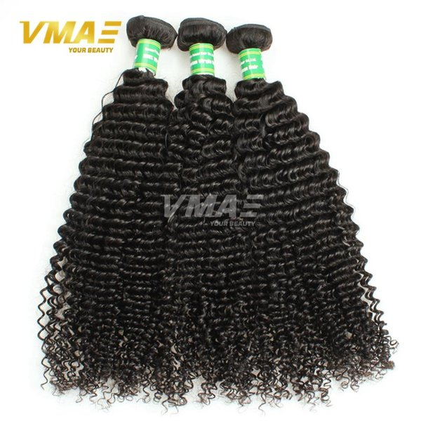Good Quality Hair weft 7A Unprocessed Brazilian Kinky Curly Human Hair weaves 3 Bundles Weave Top Selling