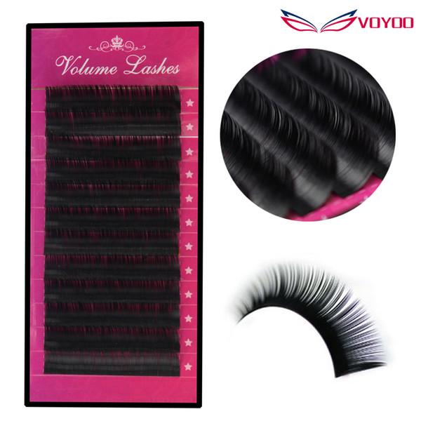 All Size B/C/D curl 1 trays ,mix 8-14mm high quality synthetic mink,natural mink False eyelash,individual eyelash extension