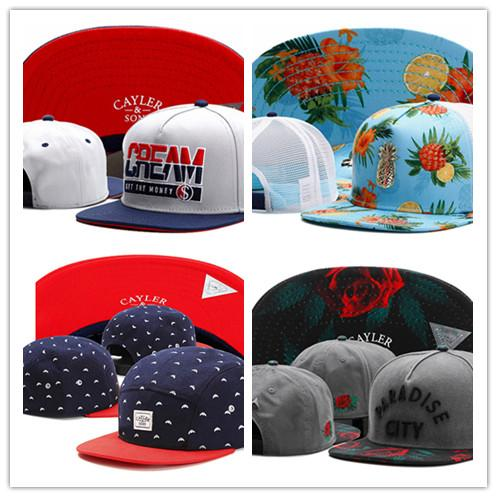 2017New Hot BIGGIE Cayler & Sons black snapbacks Men Women Basketball Football Hip Hop adjustable snapback Baseball cap TYMY 617