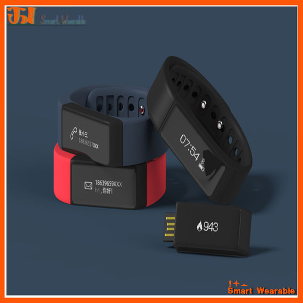 Hot I5 Plus Bluetooth Smart Sports Bracelet Wireless Fitness Pedometer Activity Tracker with Steps Counter Sleep Monitoring Calories Track