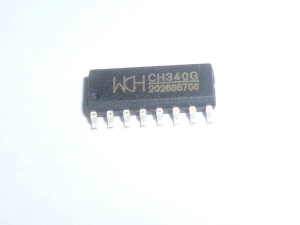 CH340G SOP-16 IC R3 Board Free USB Cable Serial Chip 10pcs/lot
