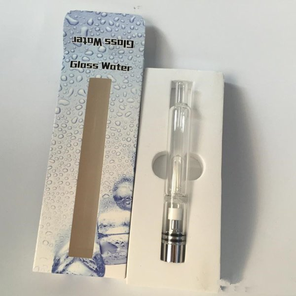 Glass water Atomizer Hookah Water Vaporizer Pipe Tank Glass Water Bongs Pipe for wax dry herb fit ego-t ego-q battery