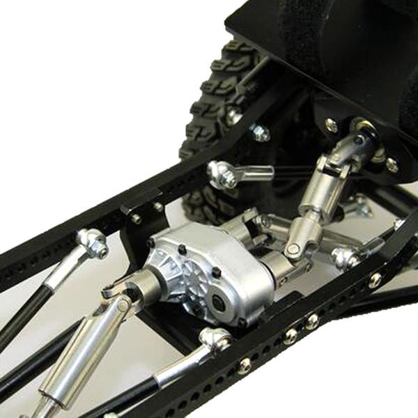 Caso De Transferência Para SCX10 Land Rover D90 Rc4wd 1:10 Rc Crawler