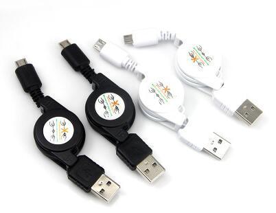 Cavo di ricarica per telefono cellulare USB2.0 Cavo di ricarica per telefono cellulare da 100 pezzi / lotto Cavo USB per HTC Android Phone