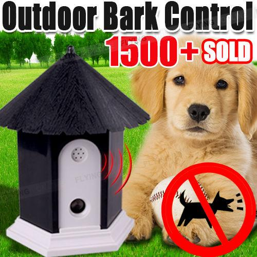 New Puppy Dog Ultrasonic Outdoor Stop Anti Barking Control System Device OVER 1500 SOLD - PREMIUM QUALITY - BUY WITH CONFIDENCE