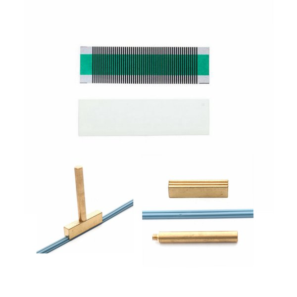 Para SAAB 9-5 Climate Control automático LCD ACC Pixel Ribbon Cable para Saab Air Conditioning Unit failure Herramienta de reparación soldadura t-head strip