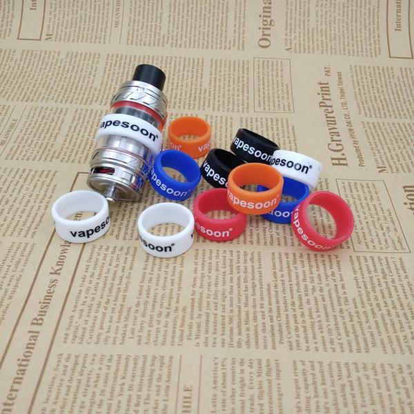 Wholesale- 20pcs/lot vapesoon vape band ring for 20-27mm e cigarette TFV8 TFV12 MELO 300 MELO 3 MINI Atomizer 24*12*2 anti-slip ring