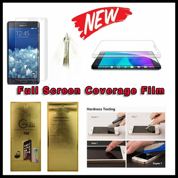 For iphone 7 6 6S Plus Samsung Galaxy S8 Plus S6 S7 Edge Full Body Covered Front Back TPU Screen Protector Retail Package
