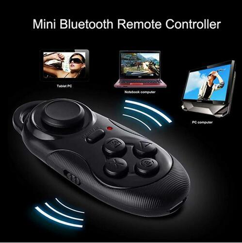 New Bluetooth Selfie Shutter Remote Control Gamepad Wireless Smart Mouse For IOS Android PC VR Box Most Smart Devices