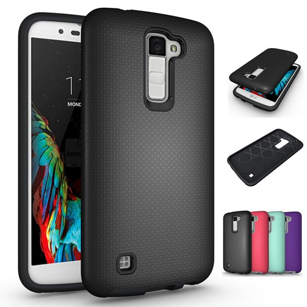Armor Case Cover for LG G3 G4 G5 G6 K7 K10 Tribute 5 Premier LTE Hybrid Dual Layer Impact Tough Shockproof Protective Shell
