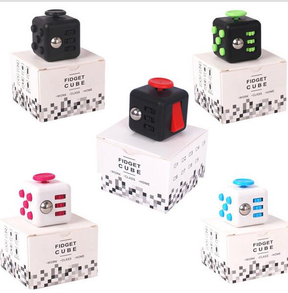 Новый Fidget Cube Fidget превращает первую в мире американскую декомпрессионную тревогу Toys By DHL