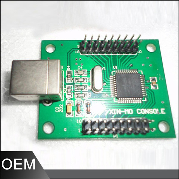 2019 2 Players Zero Delay Arcade USB Encoder PC To Joystick MAME & 5 Pin +  Sanwa Type Push Buttons For Raspberry PI Retropie Project From Temy, $25 13