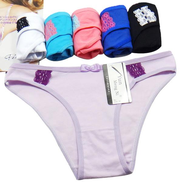 # 89045 Yun Meng Ni Underwear nueva llegada de algodón de alta calidad mujeres lencería stock al por mayor bragas de las señoras