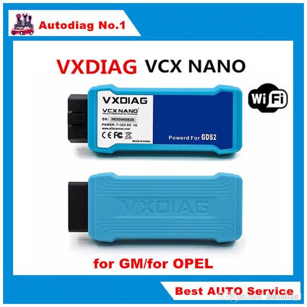Nouvelle Arrivée WIFI VXDIAG VCX NANO pour G-M / pour OPEL Outil De Diagnostic GDS2 Véhicule Interface de Communication Livraison Gratuite
