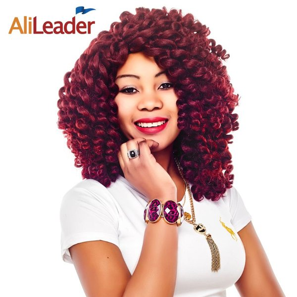 Alileader Crochet Braid Extensions Afro Twist Braid Synthetic Hair