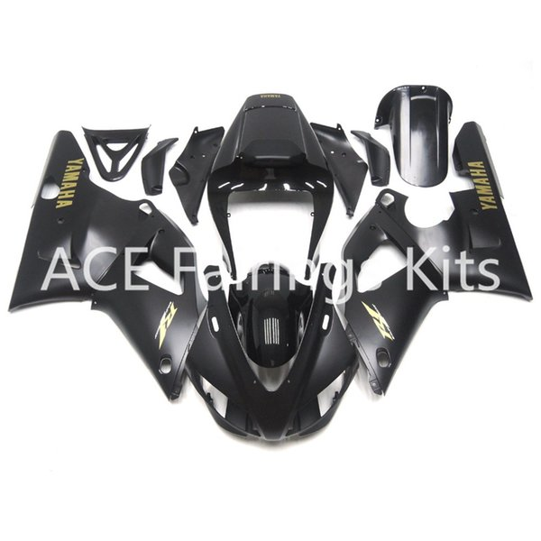 3 free gifts Complete Fairings For Yamaha YZF 1000-YZF-R1-98-99 YZF-R1-1998-1999 Motorcycle Full Fairing Kit Black cool style