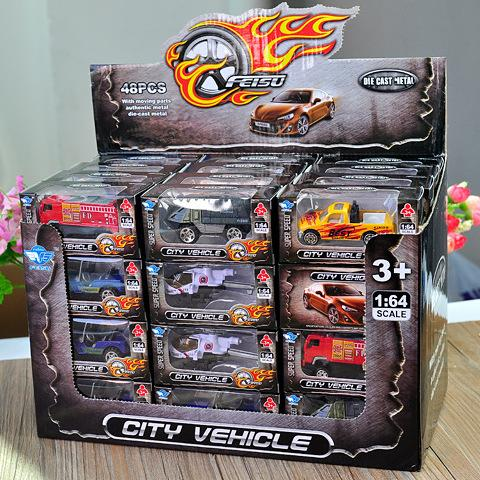 Children's toy alloy simulation car model, alloy car, mini alloy assembly model car, toy car