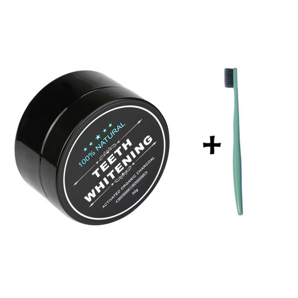 Teeth Whitening Powder Natural Organic Activated Charcoal Bamboo Toothpaste Plaque Tartar Removal Coffee Stains For Dropshipping