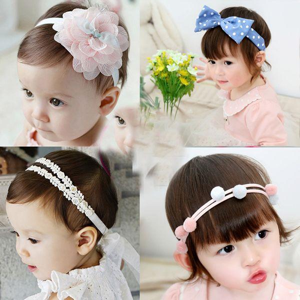 2017 Babys' Formal Accessories Flower Ring Kids' Head PiecesChristmas Toddler Headwear Princess Photo Props Hair Accessories Hair