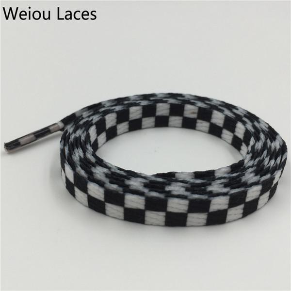 # 709 Plaid Negro-Blanco 160cm