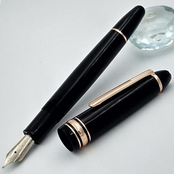 top popular 2017 new Unique design 1.4.9 classical fountain pen   Ballpoint Pens luxury stationery office pen gift kits Executive ink pen 2021
