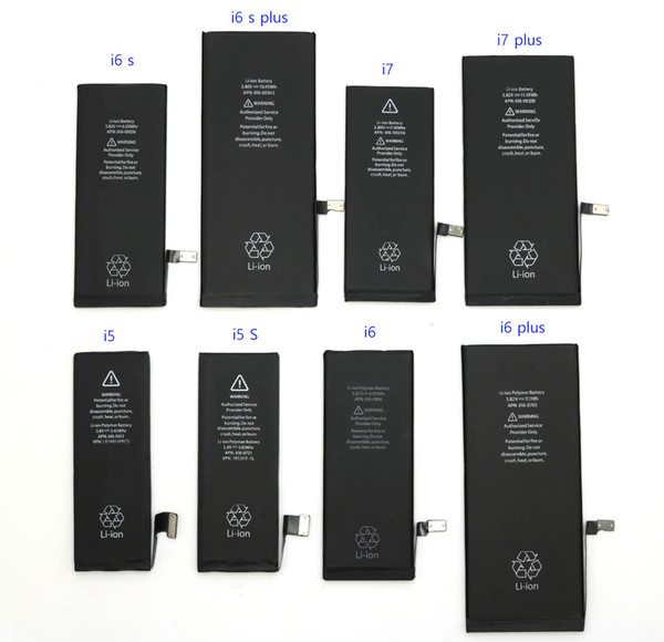 For Iphone7 7Plus 4 4S 5 5S 5C 5G 6 6S Plus 2750 100% Original Built-in Li-ion Battery Free Delivery Of Maintenance Tools