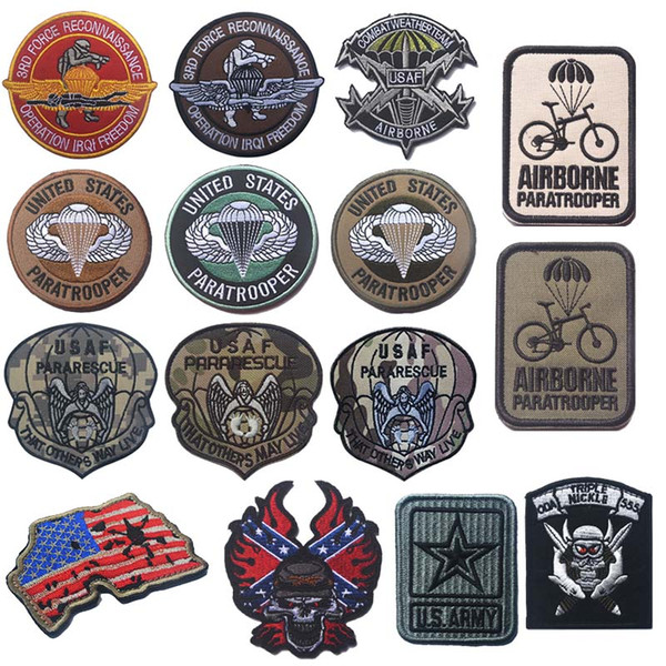 Nome Personalizzato Patch Badge Hook e Loop Paintball Airsoft Tattico Molle Vest