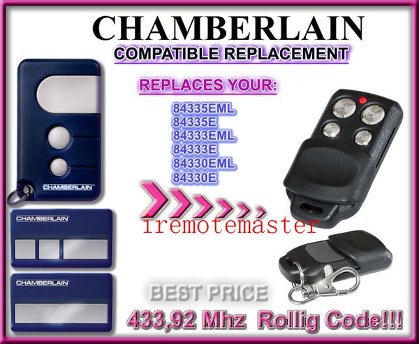 FOR Chamberlain 84330E 84335E Compatible Remote control replacement free shipping