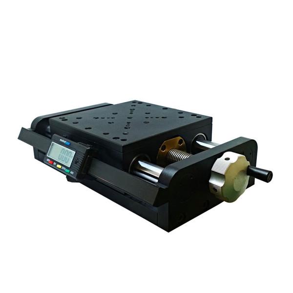 Этап SSP-305MP цифровой ручной, платформа перевода винта микрометра высокой точности линейная, станция смещения, перемещение 200mm
